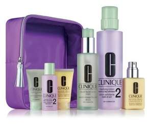 Clinique Great Skin Home and Away Set for Drier Skin - 92.00 Value