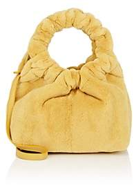 The Row Women's Double-Circle Small Mink Fur Bag - Yellow