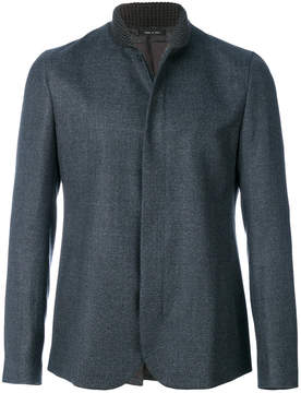Emporio Armani ribbed collar jacket