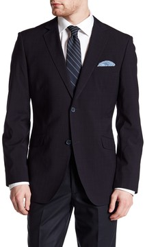 James Campbell Catania Blue Seer Two Button Single Vented Sport Coat