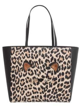 Kate Spade Hallie Leopard Shopping Bag - ANIMALIER - STYLE