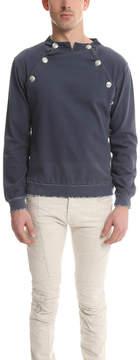 Pierre Balmain Denim Cotton Sweatshirt