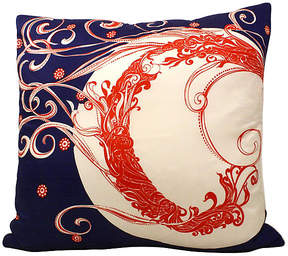 One Kings Lane Vintage Silk Scarf Pillow - Acapillow
