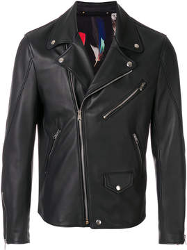 Paul Smith multi-zip biker jacket