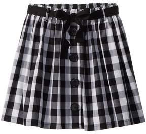 Kate Spade Kids Gingham Skirt Girl's Skirt
