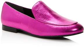 Kenneth Cole Westley Metallic Leather Loafers