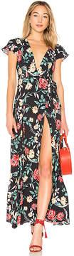 Lovers + Friends Kayla Wrap Dress