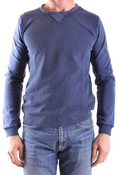 Fred Mello Men's Blue Cotton Sweatshirt.
