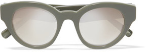 Elizabeth and James Payton Cat-eye Acetate Sunglasses - Green
