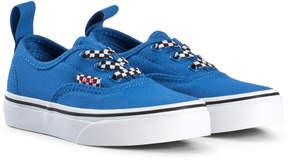 Vans Victoria Blue Elastic Ceck Lace Sneakers