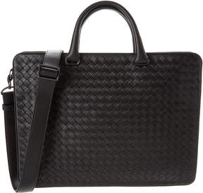Bottega Veneta Intrecciato Calf Leather Briefcase