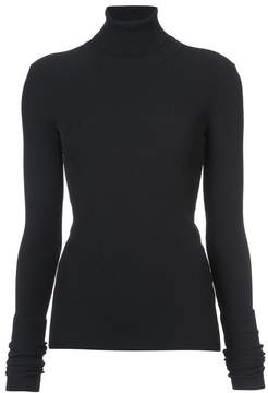 Jil Sander ribbed roll neck top