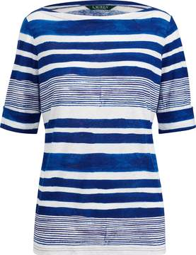 Ralph Lauren Striped Boatneck Top