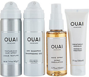 Ouai Cleanse and Style Travel Kit