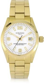 Forzieri Roger Mini Golden Stainless Steel Women's Watch