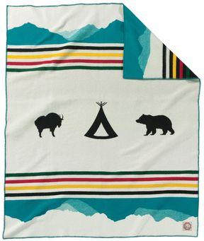 Pendleton Glacier Park Anniversary Blanket