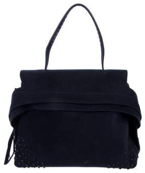 Tod's Suede Wave Bag