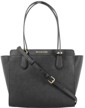 Michael Kors Dee Dee Medium Tote Black Leather Ladies Handbag 30F6GTWT8L001 - ONE COLOR - STYLE