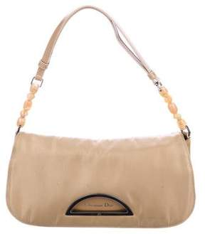 Christian Dior Leather-Trimmed Malice Bag