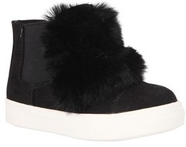 Nina Girl's Helen Faux Fur Bootie Sneaker