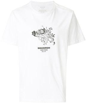 MHI illustration logo print T-shirt