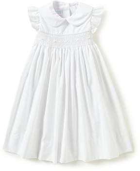 Edgehill Collection Little Girls 2T-4T Ruffle-Sleeve Dress