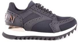 Philipp Plein Women's Multicolor Leather Sneakers.