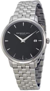 Raymond Weil Toccata Black Dial Stainless Steel Men's Watch