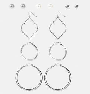 Avenue Marquis Textured Earring Set