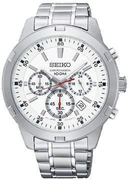 Seiko Neo Sports Chronograph Silver Dial Men's Watch