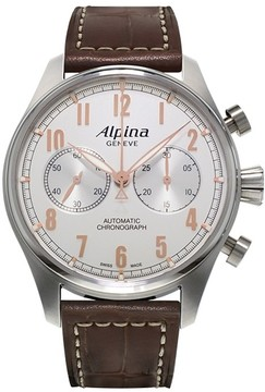 Alpina Startimer Classic Chronograph 44 mm Mens Watch