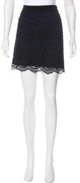 Claudie Pierlot Lace Mini Skirt