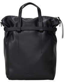 Liebeskind Berlin Belfast Leather Belted Convertible Tote.