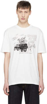 McQ Off-White Hissing At The Sun T-Shirt