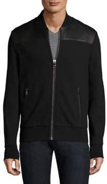 Michael Kors Zippered Stand Collar Jacket