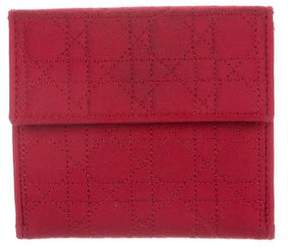 Christian Dior Cannage Nylon Wallet