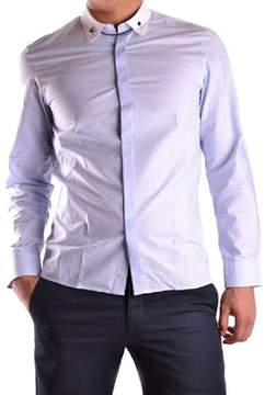 Richmond Men's Light Blue Cotton Shirt.