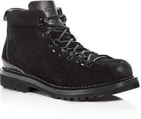 Buttero Men's Canalone Suede Hiker Boots