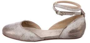 Henry Beguelin Leather Round-Toe Flats