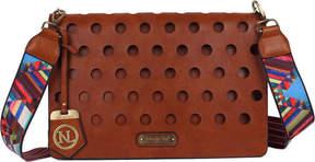 Nicole Lee Talia Honey-Comb Cross Body Bag (Women's)
