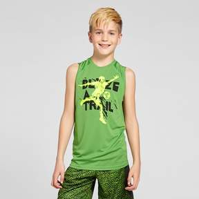Champion Boys' Sleeveless Graphic Tech T-Shirt Quest For The Best