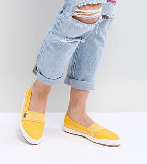 Lacoste Maurice 218 Slip On Espadrille In Yellow