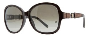 Montblanc Mb 420/s 48f Brown Oversized Sunglasses.