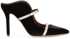 Malone Souliers contrast heeled mules