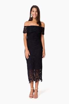 Shoshanna Jet Madison Dress