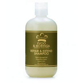 Nubian Heritage Evoo + Moringa Shampoo by 12oz Wash)