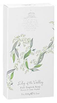 Lily of the Valley Fine English Soap (Box of 3) by Woods of Windsor (3.5ozea Bars)