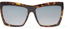 Balenciaga Square-frame Tortoiseshell Acetate Sunglasses