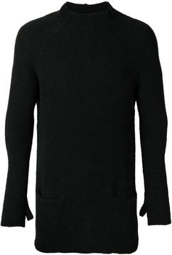 The Viridi-anne double pocket turtleneck