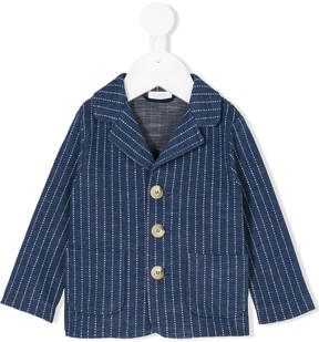 Il Gufo patch pockets striped blazer